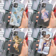 Luxury Angel Cherubs Cupid Art Phone Case For IPhon