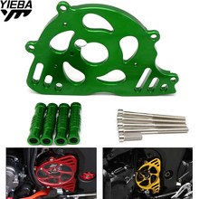 cnc Motorcycle Accessories Front Sprocket Chain Guard Cover Left Side EngineFor KAWASAKI Z1000 Z 1000 2010-2016 2015 2014 2013