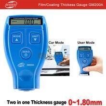 Толщиномер лакокрасочного покрытия автомобиля gm200a benetech