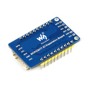 Image 5 - 5pcs Waveshare MCP23017 IO Expansion Board 6pin I2C Interface Expands 16 I/O Pins for Raspberry Pi/Micro:bit/Arduino/STM32