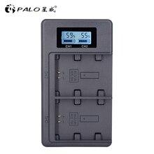 פאלו NP FZ100 NPFZ100 FZ100 LCD דיגיטלי סוללה מטען עבור Sony Alpha a9, אלפא a7R III, a7R סימן 3, אלפא a7 III, A7 סימן 3
