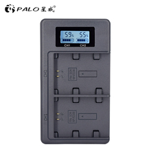 PALO NP FZ100 NPFZ100 FZ100 LCD Digital Batterie Ladegerät für Sony Alpha a9, Alpha a7R III, a7R MARK 3, Alpha a7 III, A7 MARK 3