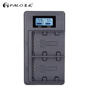 PALO Battery-Charger NP-FZ100 Digital for Sony Alpha A9 A7r-iii/A7r/Mark-3/.. LCD