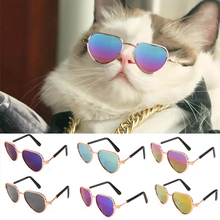 Toy Glasses Accessoires Pet-Products Kitty Lovely Photos Heart-Shape Colorful