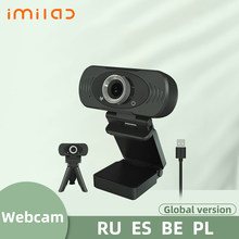 IMILAB – caméra web USB HD 1080P, avec double micro intégré, pour ordinateur de bureau et maison