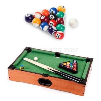 16pcs 25mm Resin Mini Billiard Ball Children Toy Small Pool Cue Balls Full Set Drop Shipping