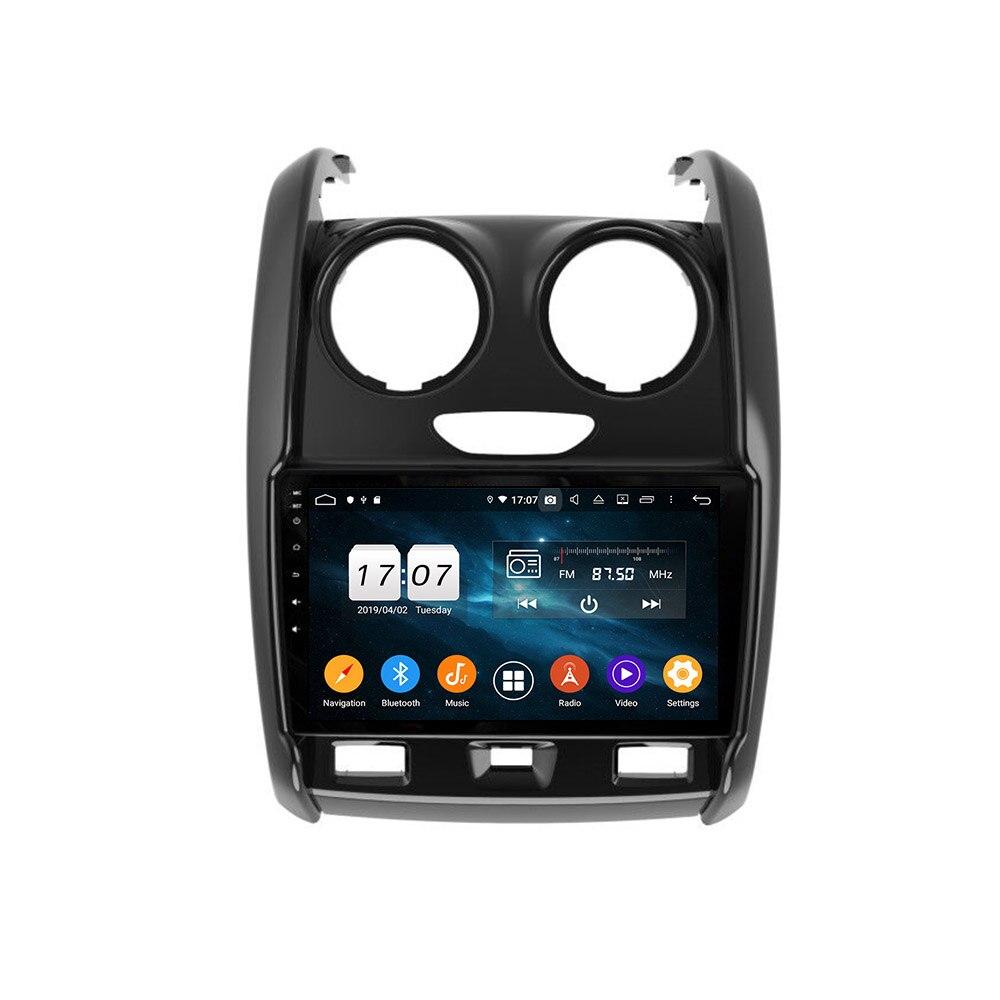 Для Renault Duster 2014 - 2018 2 DIN Android 8,1 автомобильный Радио Мультимедиа Видео плеер навигация GPS WIFI FM Android стерео