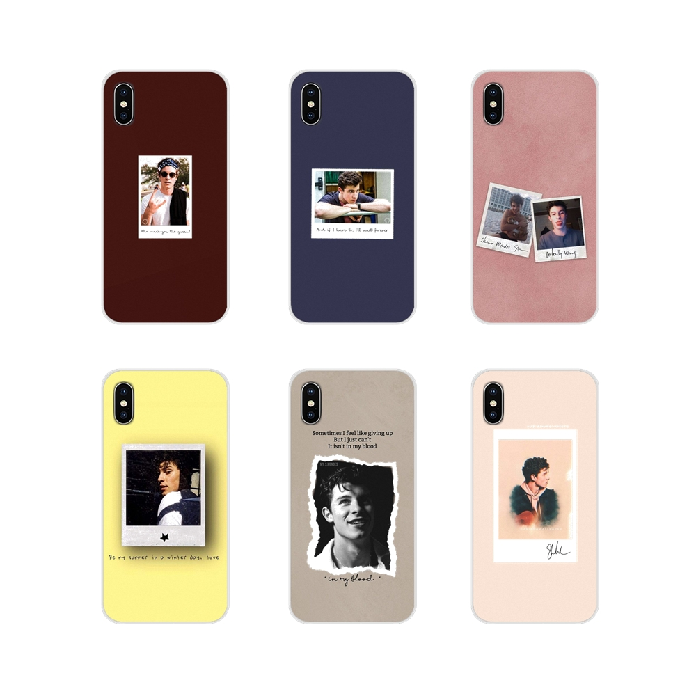 Accessories Phone Cases Covers For Motorola Moto X4 E4 E5 G5 G5S G6 Z Z2 Z3 G G2 G3 C Play Plus Shawn Mendes Novelty Fundas