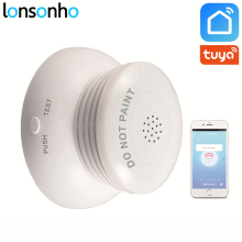 Lonsonho Wifi Smart Smoke Sensor Detector Fire Alarm Security System Tuya Life APP