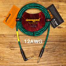 Samgool+ LINE series guitar electric guitar cable noise reduction line box music instrument audio line effect line 12awg цена в Москве и Питере