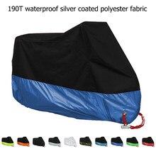 Housse universelle pour moto, couverture, imperméable à la pluie, anti-poussière, protection UV pour extérieur, M, XL, 2XL 3XL et 4XL, pour moteur de scooter, toutes saisons