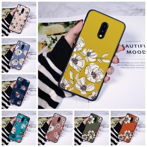 Phone Case Silicone For OnePlus 7 7 Pro 6 6T 5 5T 3 3T Yellow Flower Soft Back Cover For One Plus 7 7 Pro 6 6T 5 5T 3 3T Case(China)