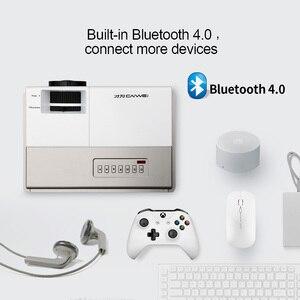 Image 3 - CAIWEI miniproyector A3/A3AB con Android, 1280x720P, compatible con 1080p, cine, compatible con WiFi, Bluetooth, para películas al aire libre