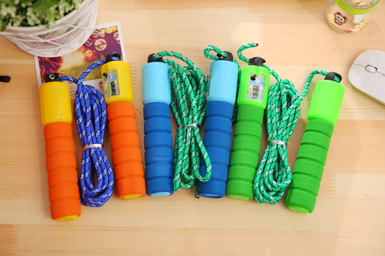 Figure Rope Jump Rope Children Electronic Tiaoshen Count Young STUDENT'S The Academic Test For The Junior High School Students U