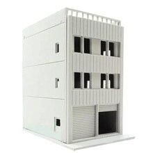 1:150 skala Sand Tisch Dekoration DIY Montage Modell Halb Offene Eisen Tor Gebäude Modell Pädagogisches Spielzeug Geschenk Für Kind kind Erwachsene