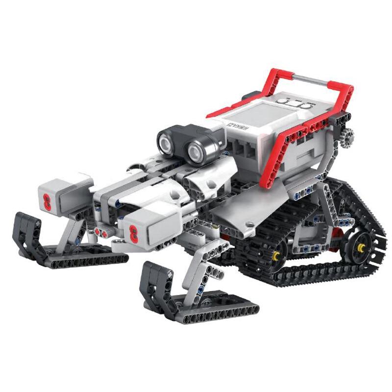 Image 3 - EV3 EV6 Compatible with 45544 Science education Building Block Robot Creative programming intelligent APP Program Toy gifsBlocks   -