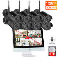 Techege 8CH 1080P Wireless NVR CCTV System 12