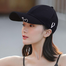 Baseball-Caps Spring Summer Snapback Embroidery Hip-Hop-Hat Women Chic Unisex Double-Ring