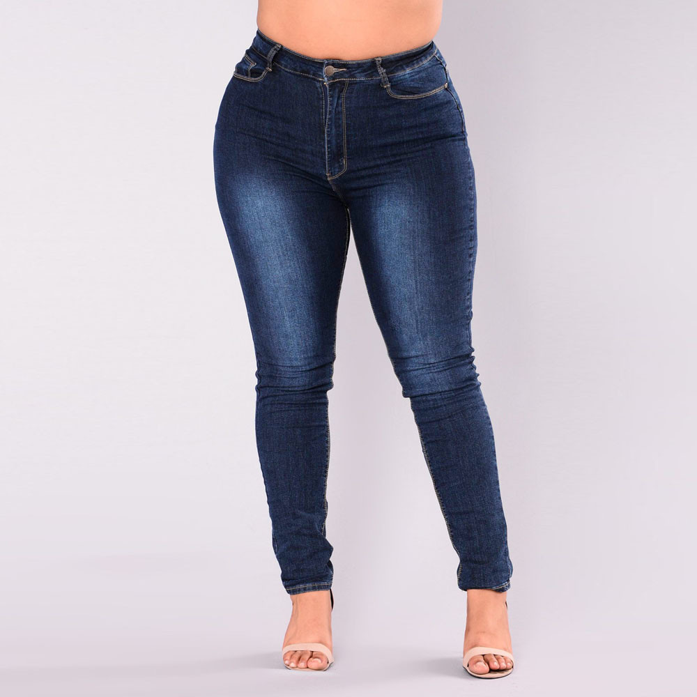 Jean Woman Mom Jeans Pants Denim Skinny Jeans For Women With High Waist Push Up Large Size Ripped Stretch Ladies Jeans Pants 7xl