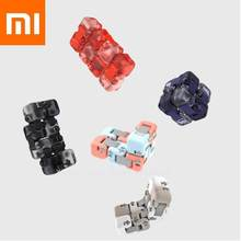 Colorido Original Xiaomi Spinner dedo ladrillos inteligencia juguetes dedo inteligente portátil para xiomi Smart home regalo para chico(China)