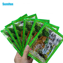 8 stücke/1 tasche tiger balsam medizinische putze Muskel Schmerzen Patch Chinesischen meridian stress binder patch Arthritis Gips C1489(China)