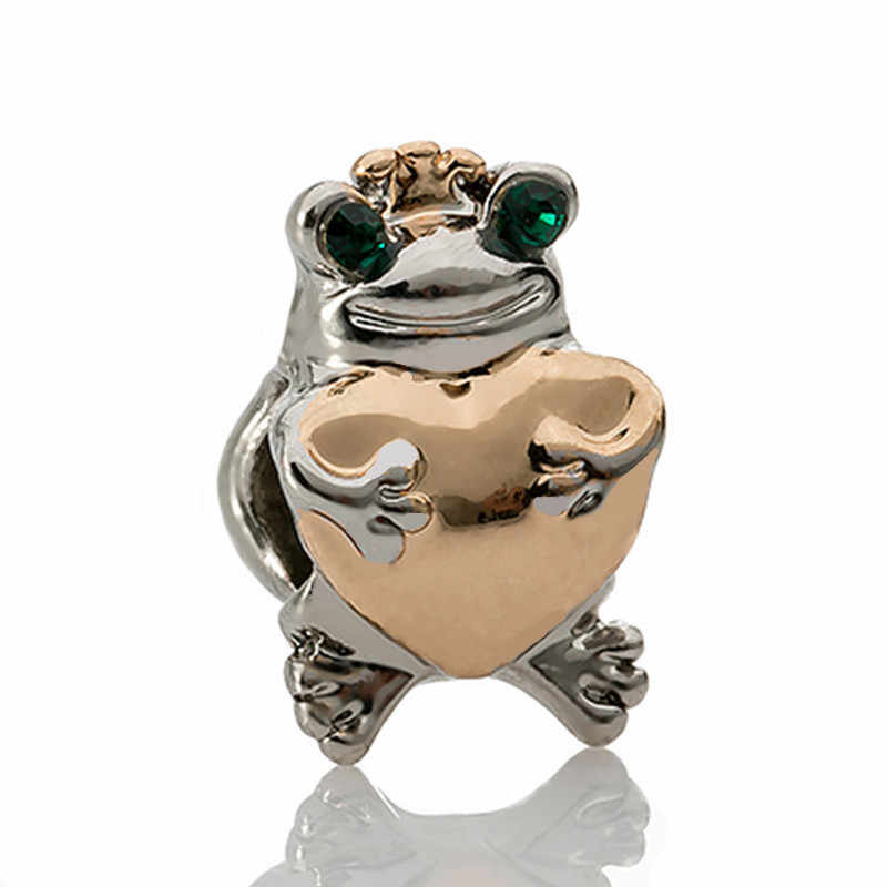 Einfachen Stil der Großen Ball Sterne Kristall Blume Diy Bead Fit Original Marke Charms Silber Farbe Armband Schmuckstück Schmuck Frauen Geschenk