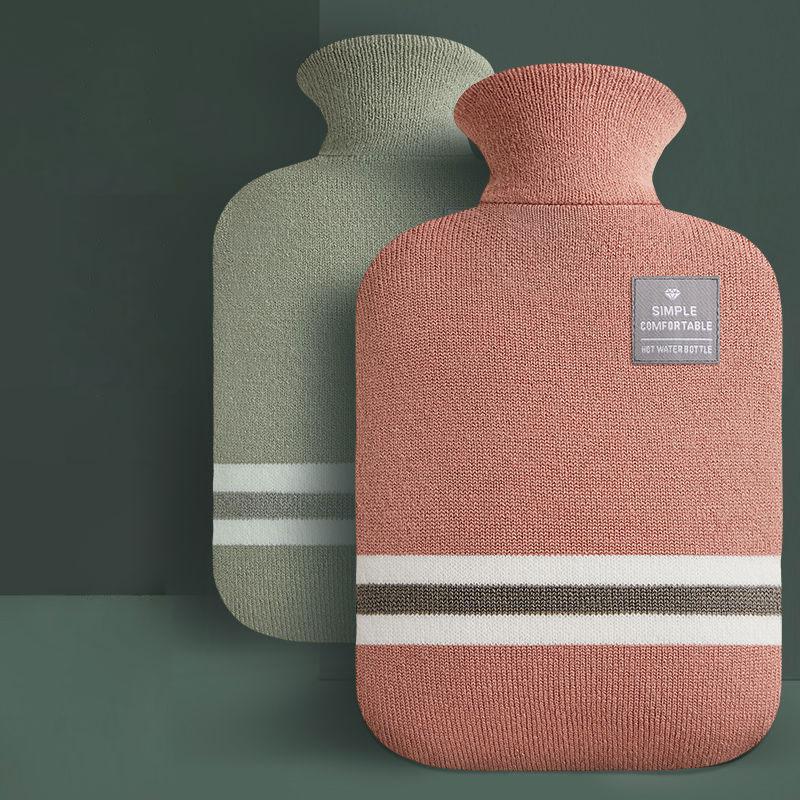 Bolsa de agua caliente para llenado de agua para mujer, bolsa de agua caliente para manos y pies, bolsa de agua caliente para mantener en la mano, bolsa de agua caliente