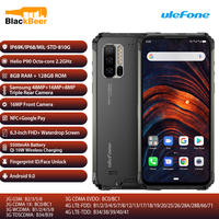Ulefone Armor 7 6.3 Inch Dual 4G SmartPhone Helio P90 Octa Core IP68/IP69K Rugged Cellphone Global Version Bands Mobilephone NFC
