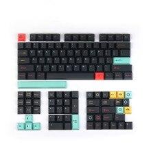Механическая клавиатура 129 с сублимационной печатью, колпачок для клавиш Cherry Profile 87/104 98068, колпачок для клавиш Filco на заказ