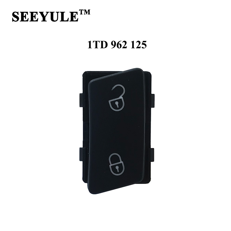 1pc SEEYULE 1TD 962 125 Car Door Lock Do Unlock Switch Door Control ապահով կոճակ VW Touran Caddy- ի համար
