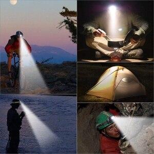 Image 5 - 2000 lumen LED Scheinwerfer Leistungsstarke Taschenlampe Frontal Laterne Zoomable Scheinwerfer Taschenlampe Licht Zu Bike Für Camping Jagd Angeln