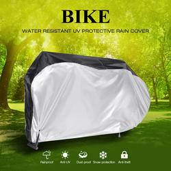 3 tamanho m/l/xl capa de bicicleta capa de chuva neve poeira sol proteção da motocicleta à prova dwaterproof água proteção uv capa