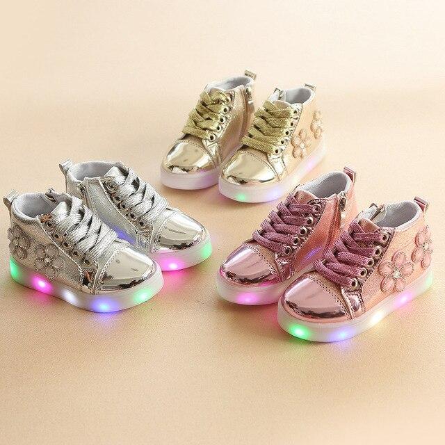 Sneakers met lichtjes