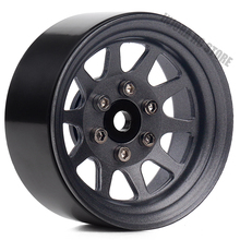 4PCS/Set Metal Alloy 10-Spokes Wheel 1.9