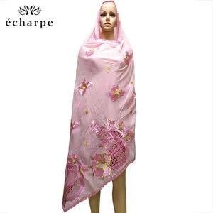 Image 5 - New African Scarf Muslim Hijab Jersey Scarf Soft Headscarf foulard femme musulman Islam Clothing Arab Wrap Head Scarves