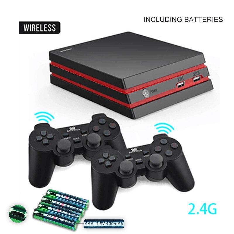 Игровая консоль-лягушка с 2,4G беспроводным контроллером HDMI, видео игровая консоль 600, классические игры для GBA family tv, Ретро игры - Цвет: Wireless 2 in 1