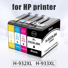 цена на Topcolor 932XL 933XL Replace HP 932 HP933 HP-932 Ink Cartridge for HP Officejet 6100 6600 6700 7110 7610 7612 7510 7512 Printer