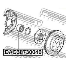 Подшипник ступ. пер. Honda Civic 1.3-1.6 EG3/EG4/EG5/EG8/EH9/EJ1