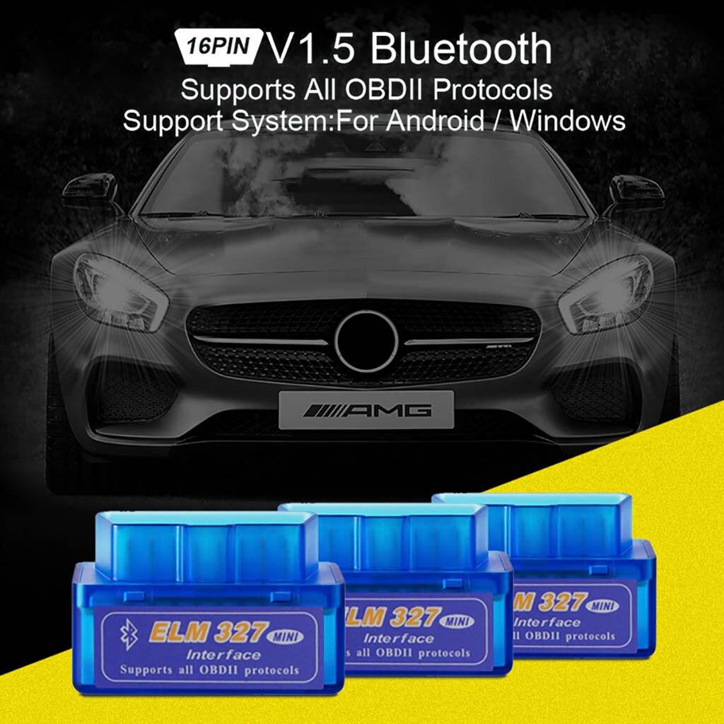 Bluetooth V1.5 ELM327 OBD2 II Auto Car OBD2 Diagnostic Interface Scanner Tool