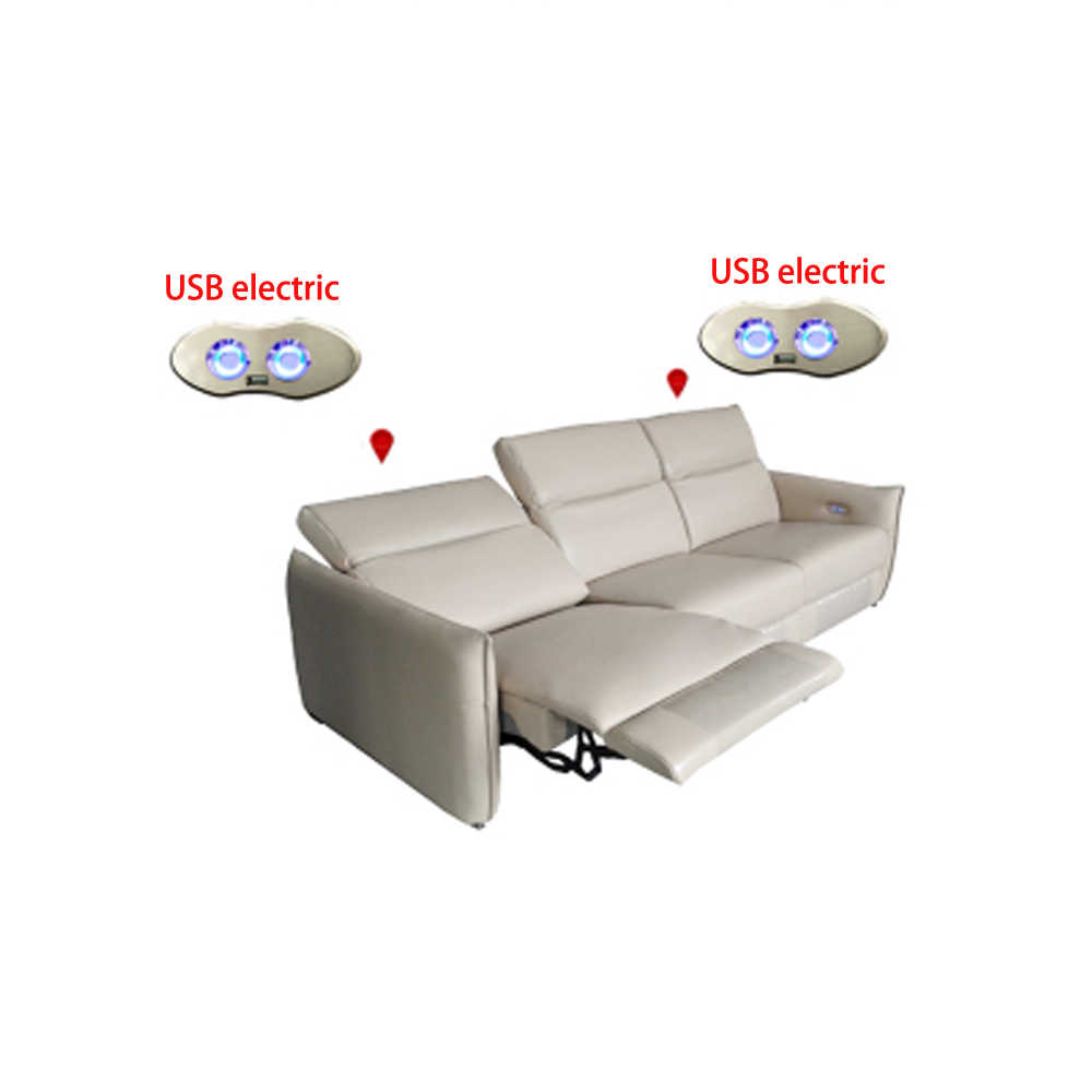Living Room Sofa Set 3 Seater Real