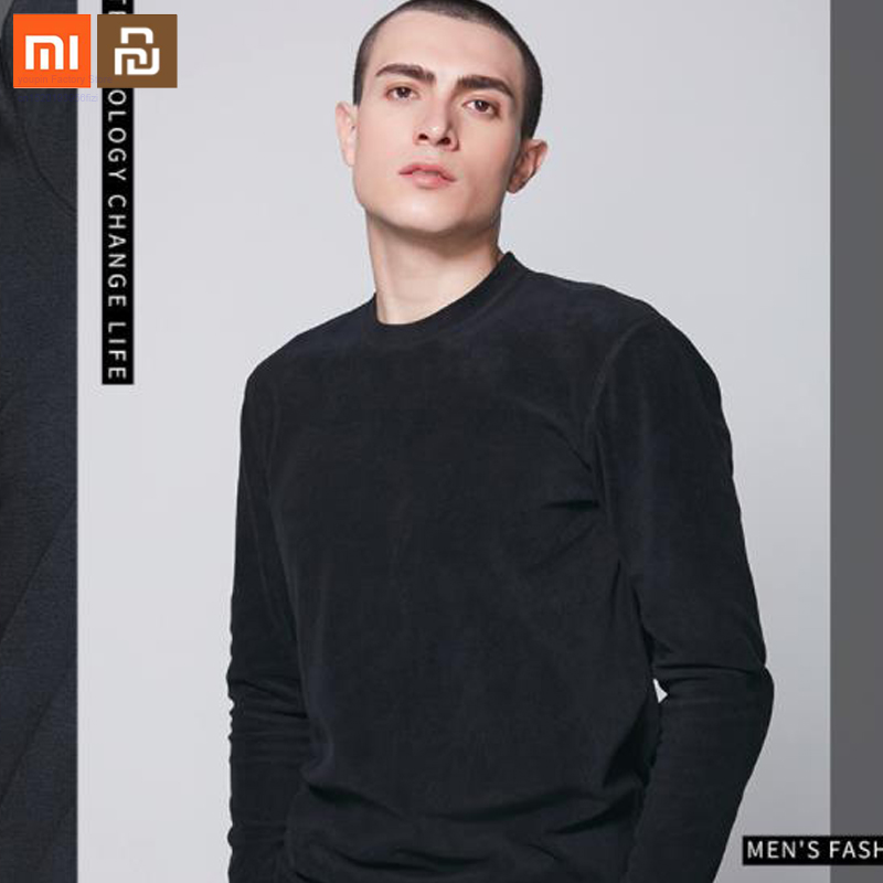 Xiaomi Cottonsmith 2019 New Product Simple Autumn And Winter Fashion Catching Fleece Men's Casual Fleece Shirt Warm Clothing