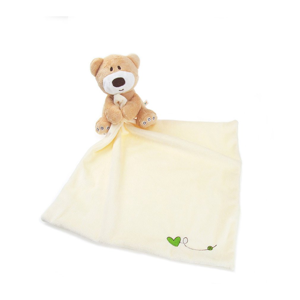 OUTAD Newborn Baby Bath Towel Cute Soft Lovely Cartoon Infant Bear Towel Reassure Kids Appease Hooded Velvet Towels Baby Care
