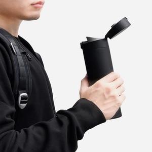 Image 5 - Xiaomi Mijiaถ้วย2สแตนเลสสูญญากาศ480Mlความจุถ้วยน้ำแบบพกพาฉนวนกันความร้อนล็อคเย็นยืดหยุ่นสวิทช์