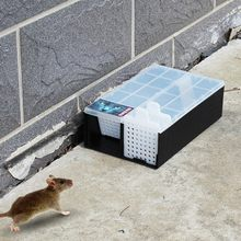 Household Rat Cage Catch Mice Rodent Control Catch Bait Hamster Mouse Trap Durable Transparent Continuous Mousetrap(China)