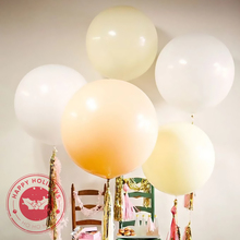 36Inch Giant Balloon Latex Balloons Birthday Wedding Decoration Inflatable Helium Happy Party Baby Shower Ball