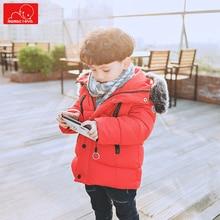 autumn winter boys faux fur coat fashion children hooded jacket warm  kids overcoat child clothing outerwear