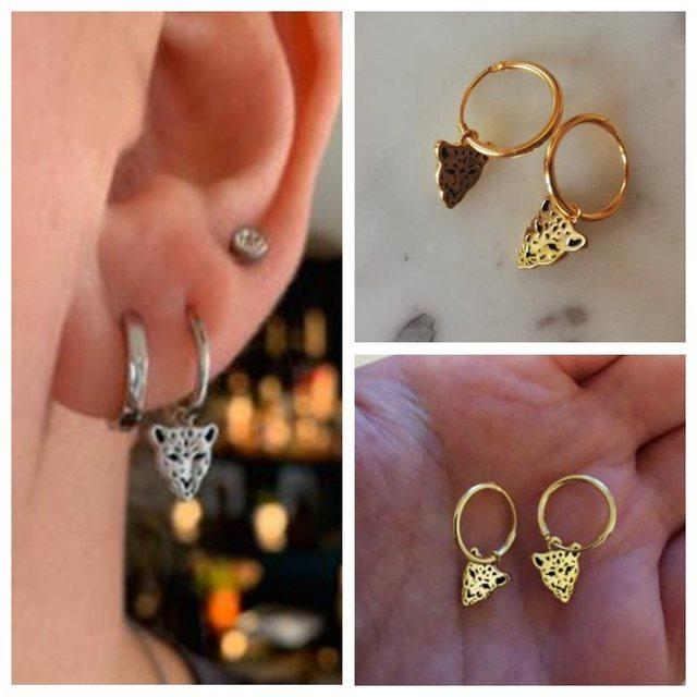 sterling fun geometric earrings 5