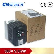 380v 5.5kW/7.5kw/11kw/4kw fases inversor de frecuencia Variabile AC unidad vfd vsd convertidor de velocidad del motore