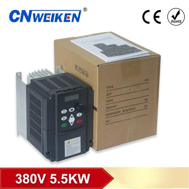 380v 5.5kW/7.5kw/11kw/4kw fases inversor דה frecuencia משתנה AC unidad vfd vsd convertidor דה velocidad דל מנוע