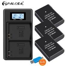 EN EL14 EN EL14A ENEL14 EL14 Batterij Voor Nikon D3100 D3200 D3300 D3400 D3500 D5600 D5100 D5200 P7000 P7800 + Lcd Lader